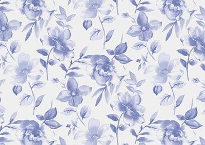 Water Flower Chalk Blue